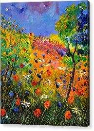 Summer 2014 Acrylic Print by Pol Ledent