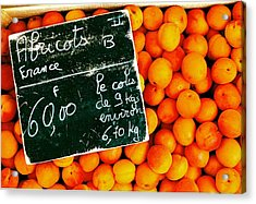 Summer Apricots Acrylic Print by Christian Capucci