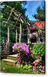 Summer Arches Acrylic Print by Mel Steinhauer