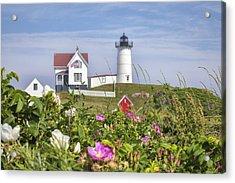 Summer At Nubble Light Acrylic Print
