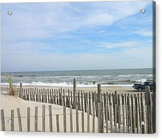 Summer At The Jersey Shore Acrylic Print
