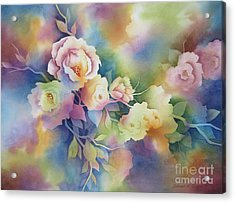 Summer Blooms Acrylic Print by Deborah Ronglien