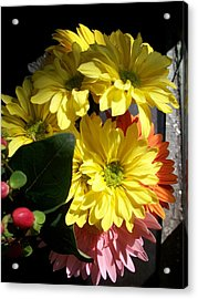 'summer Bouquet In Sunlight'  Acrylic Print