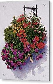 Summer Bouquet Acrylic Print by Karol Wyckoff