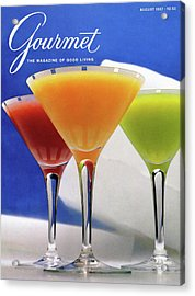 Summer Cocktails Acrylic Print