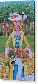Summer Colonial Acrylic Print