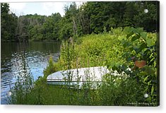 Acrylic Print featuring the photograph Summer Day  by Deborah Fay