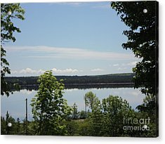 Summer Day In Cape Breton Acrylic Print