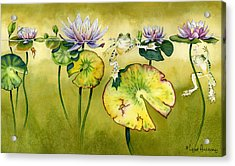 Summer Days Acrylic Print by Lyse Anthony