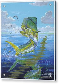 Summer Doldrums Off0015 Acrylic Print by Carey Chen