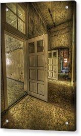 Summer Doors Acrylic Print by Nathan Wright