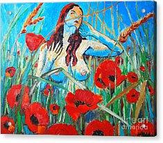 Summer Dream 1 Acrylic Print by Ana Maria Edulescu
