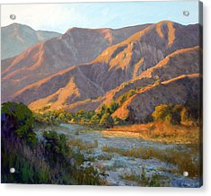 Summer Evening Eaton Canyon Acrylic Print