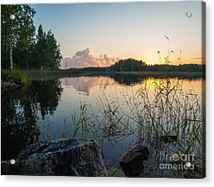 Summer Evening To Remember Acrylic Print