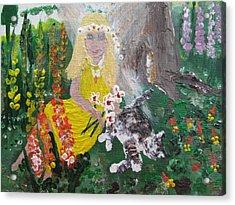 Summer Fairy Acrylic Print