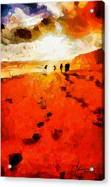 Summer Fire Tnm Acrylic Print by Vincent DiNovici