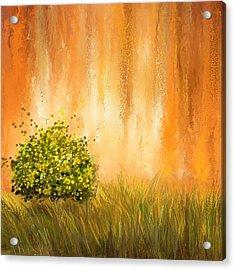 Summer- Four Seasons Wall Art Acrylic Print by Lourry Legarde