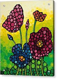 Summer Garden 2 Acrylic Print by Sharon Cummings