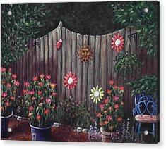 Summer Garden Acrylic Print by Anastasiya Malakhova