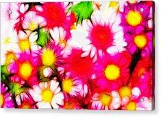 Summer Garden Acrylic Print by Steve K