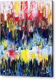 Acrylic Print featuring the painting Summer Haze by Rebecca Davis