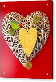 Acrylic Print featuring the photograph Summer Heart by Juergen Weiss