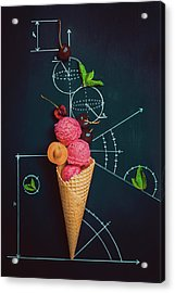 Summer Homework Acrylic Print