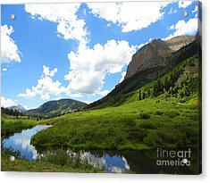 Summer In Crested Butte Acrylic Print