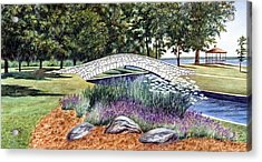 Summer In Doty Park Acrylic Print
