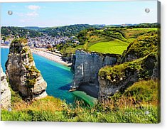 Summer In Normandy Acrylic Print