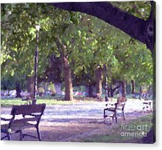 Summer In The Park Acrylic Print