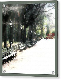 Summer In The Winter Acrylic Print