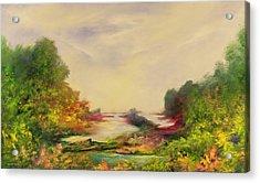 Summer Joy Acrylic Print by Hannibal Mane