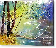 Summer Lakeside Acrylic Print