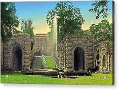 Summer Lawn Acrylic Print by Terry Reynoldson