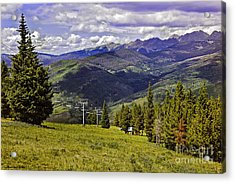 Summer Lifts - Vail Acrylic Print