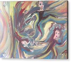 Summer Madness Acrylic Print by Judith Desrosiers