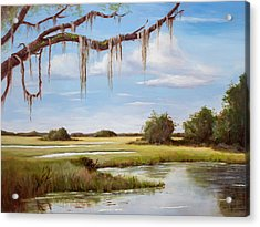 Summer Marsh Acrylic Print