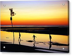 Acrylic Print featuring the photograph Summer Memories by James Kirkikis
