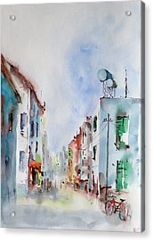 Acrylic Print featuring the painting Summer Morning by Faruk Koksal
