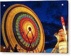 Summer Nights Ferris Wheel Acrylic Print