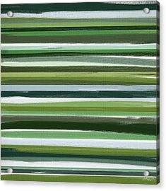 Summer Of Green Acrylic Print by Lourry Legarde