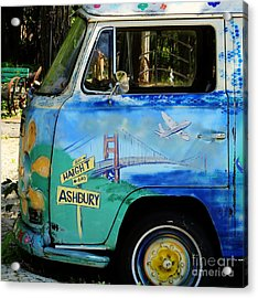 Summer Of Love In Hashbury Acrylic Print