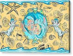 Summer Of Love Acrylic Print by John Keaton