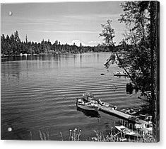Summer On The Lake Acrylic Print by Merle Junk