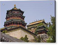 Summer Palace, Beijing Acrylic Print by John Shaw