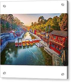 Summer Palace Beijing Acrylic Print