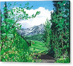Summer Paradise Acrylic Print