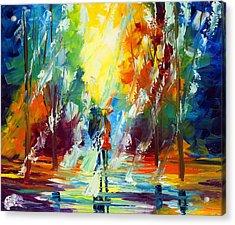Summer Rain Acrylic Print by Ash Hussein
