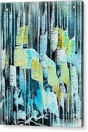 Summer Rain Acrylic Print by Yul Olaivar